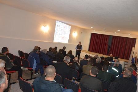 Обука за санација на почвите од поплави во Новаци