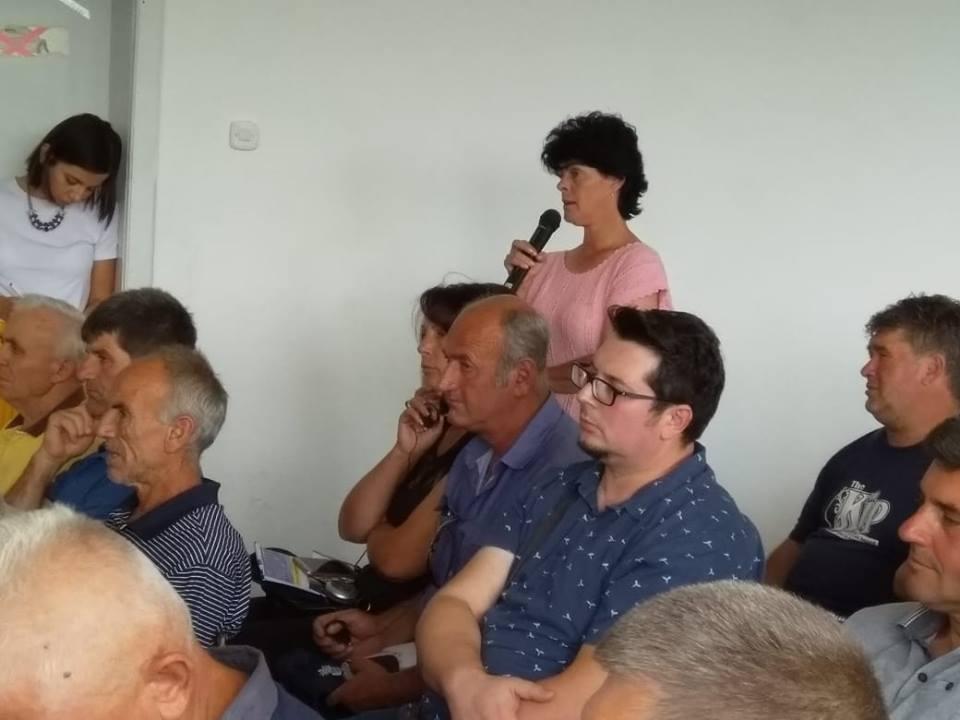 Средба на земјоделците со ЕУ делегацијата во РМ во Преспа