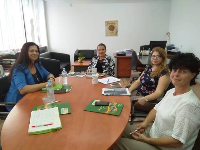НФФ реализира средба со државниот секретар на Министерството за труд и социјална политика, Јована Тренчевска