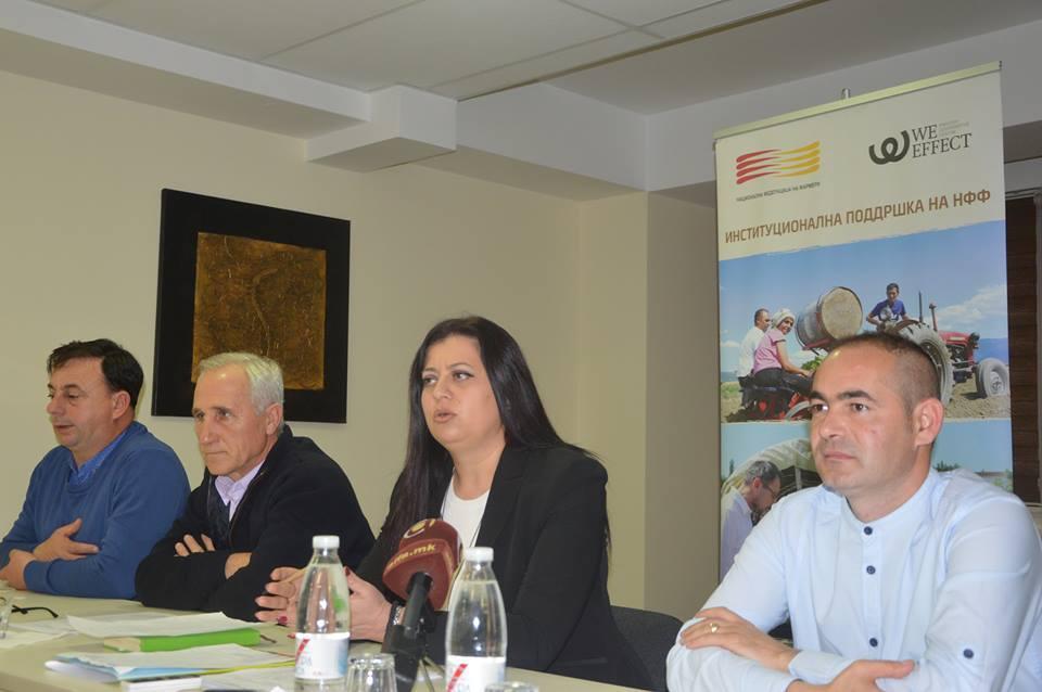 Годишно обраќање на Васка Мојсовска, претседател на НФФ и управниот одбор на организацијата