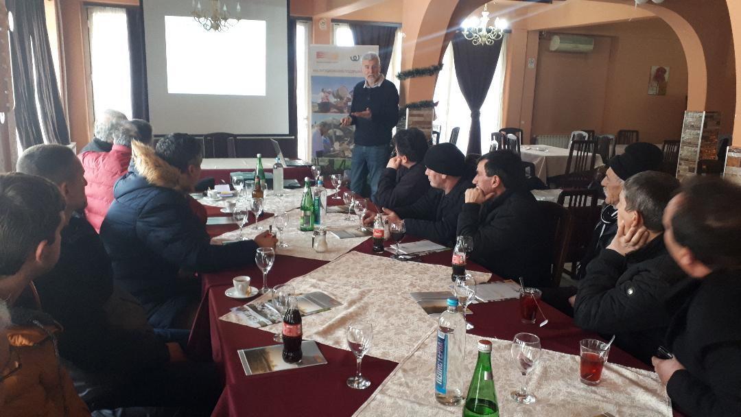 Обука за подобрување на производството на поледелски култури во услови на климатски промени