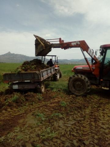 Земјоделците сами си прават патишта до нивите