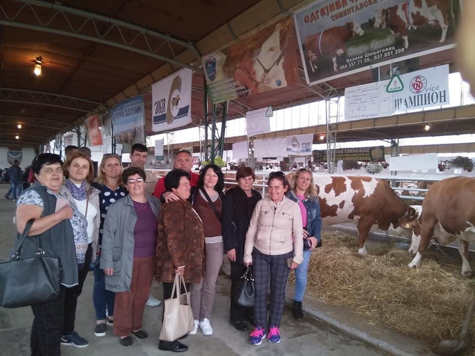 50 фармери во организација на ННФ го посетија земјоделскиот саем во Нови Сад