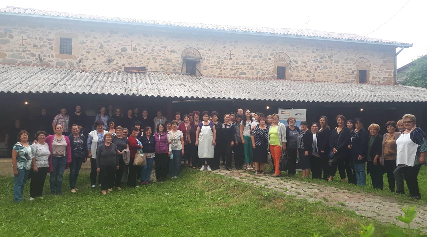 Јуфкијада 2019 во село Будинарци