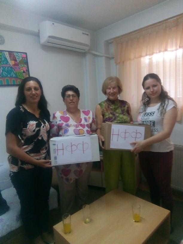 25 кг јуфки руралните жени донираа во Дневниот центар за децата со посебни потреби, Домот за деца без родители и Домот за стари лица во Берово