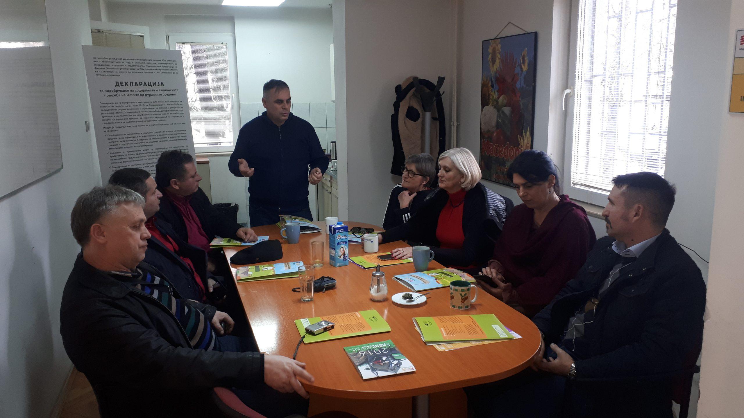 Претставници од повеќе асоцијации на фармери и земјоделски задруги од Република Србија во посета на НФФ