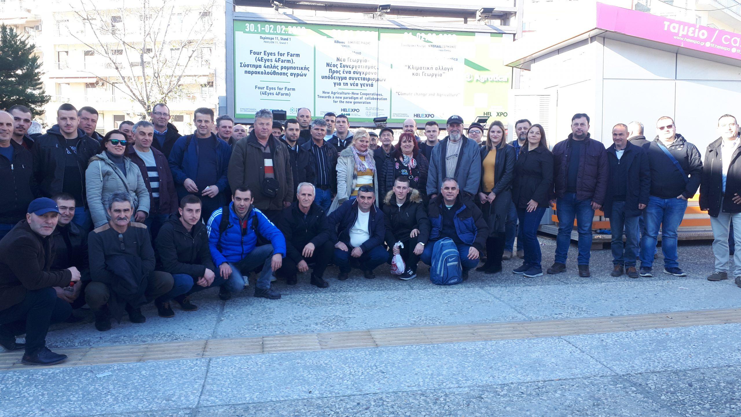 50 земјоделци во организација на НФФ на земјоделски саем во Солун