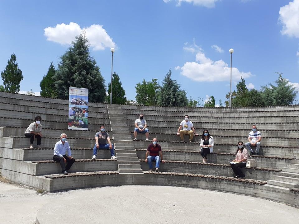 НФФ Управен одбор во амфитеатарот кај  Палурци